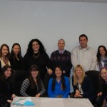 Yachad Social Work Office interns for the 2012-2013 academic year